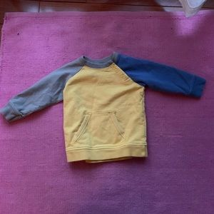 Mini Boden baby boy sweatshirt 12-18 mos